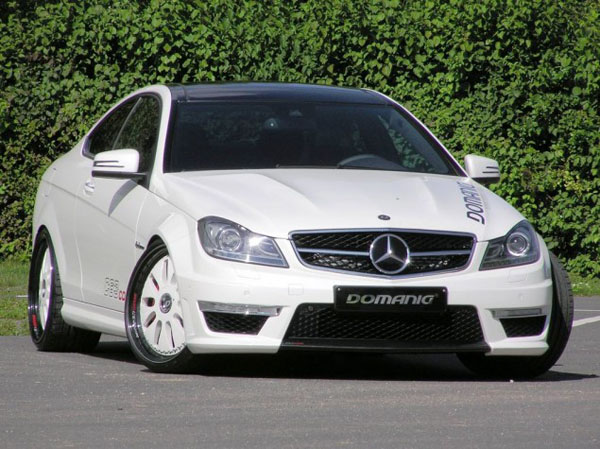 Mercedes-Benz C63 AMG Coupe в тюнинге Domanig